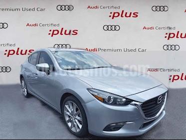 Mazda 3 Hatchback s  Aut usado (2018) color Gris precio $285,000
