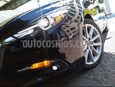 Mazda 3 Hatchback s Grand Touring Aut usado (2018) color Negro precio $290,000