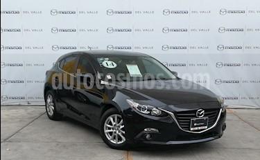 Mazda 3 Hatchback s Aut usado (2014) color Negro precio $195,000