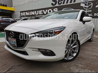 Mazda 3 Hatchback s Grand Touring Aut usado (2018) color Blanco precio $308,000