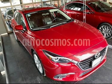 Mazda 3 Hatchback s Grand Touring Aut usado (2017) color Rojo precio $265,000