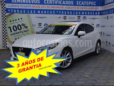 Mazda 3 Hatchback s Grand Touring Aut usado (2018) color Blanco Perla precio $309,000