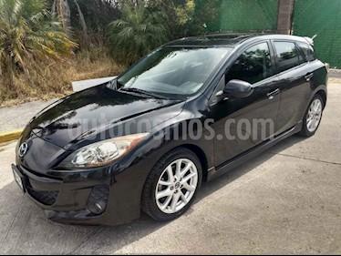 Mazda 3 Hatchback s  Aut usado (2013) color Negro precio $167,000
