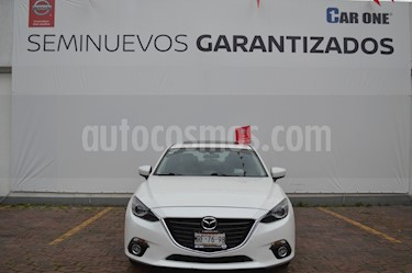 Foto Mazda 3 Hatchback i Grand Touring Aut usado (2014) color Blanco Perla precio $210,000