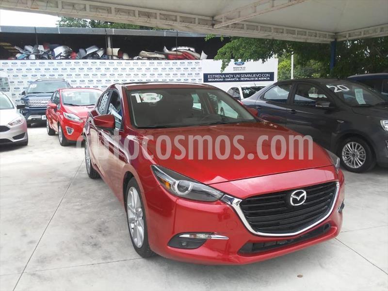 Mazda 3 Hatchback s Grand Touring Aut usado (2018) color Rojo precio $280,000