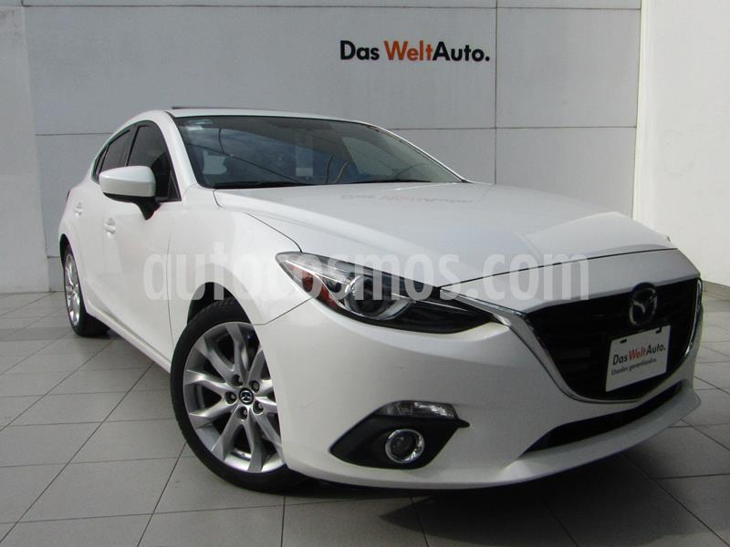 Mazda 3 Hatchback s Grand Touring Aut usado (2016) color Blanco Perla precio $218,000