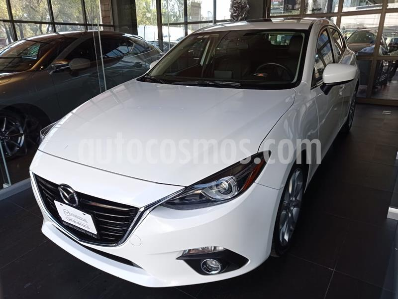 Mazda 3 Hatchback s Grand Touring Aut usado (2015) color Blanco Perla precio $220,000