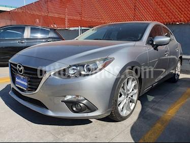 Mazda 3 Hatchback s usado (2017) color Plata precio $199,000