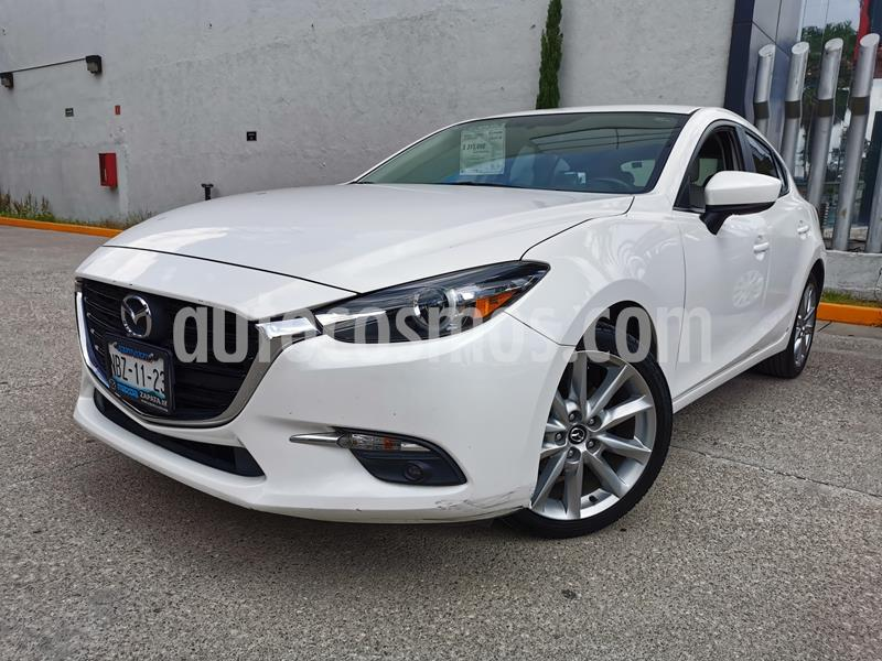 Mazda 3 Hatchback s Grand Touring Aut usado (2018) color Blanco Perla precio $275,000
