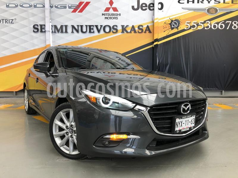 Mazda 3 Hatchback s Grand Touring Aut usado (2018) color Gris Oscuro precio $299,000
