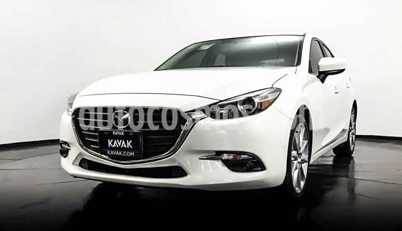 Mazda 3 Hatchback s  Aut usado (2017) color Blanco precio $289,999