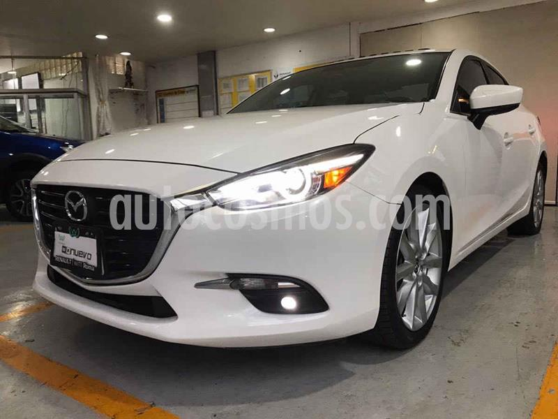 Mazda 3 Hatchback s Grand Touring Aut usado (2018) color Blanco precio $275,000