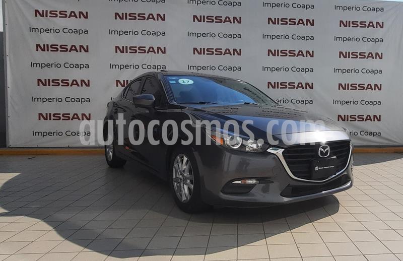 Mazda 3 Hatchback i Sport  Aut usado (2017) color Gris Titanio precio $244,900