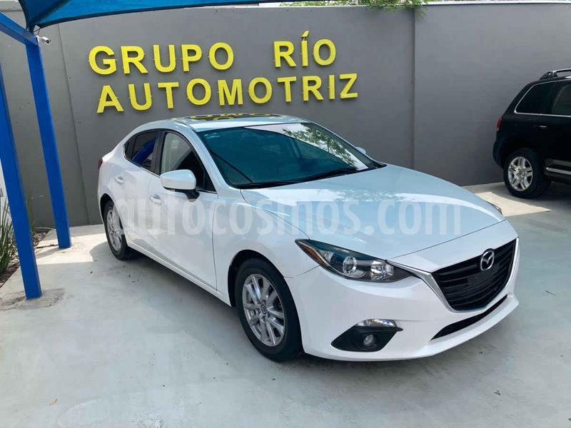 Mazda 3 Hatchback s Aut usado (2015) color Blanco precio $205,000