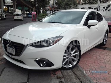 foto Mazda 3 Hatchback s Grand Touring Aut usado (2014) color Blanco Perla precio $205,000