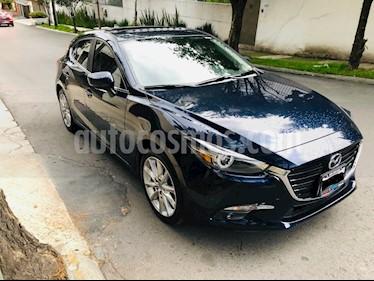 Mazda 3 Hatchback s Grand Touring Aut usado (2018) color Azul Marino precio $310,000