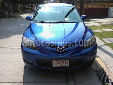 Foto venta Auto usado Mazda 3 Hatchback s Sport (2008) color Azul Acero precio $94,000