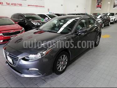 Foto venta Auto usado Mazda 3 Sedan 4p Sedan i Touring L4/2.0 Man (2016) color Gris precio $239,000