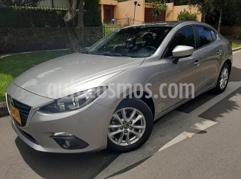 Mazda 3 Sedan 2.0L Touring Aut  usado (2017) color Gris precio $52.500.000