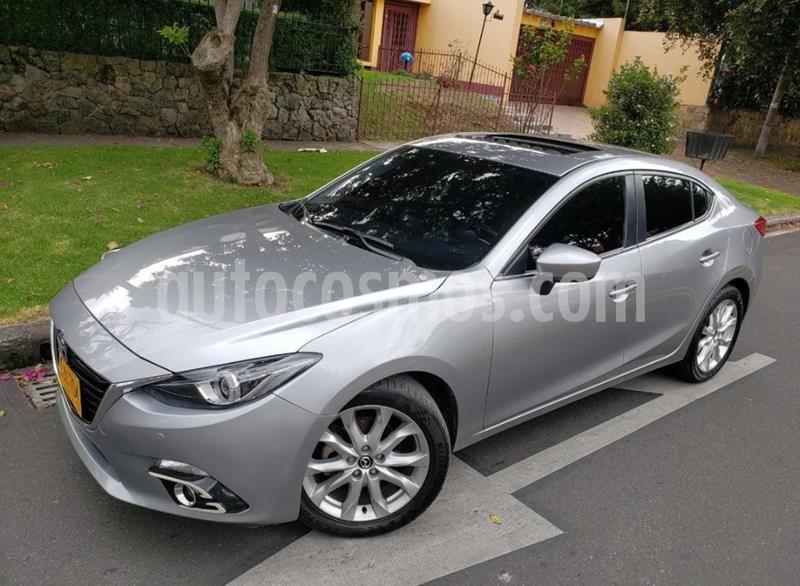 Mazda 3 Sedan 2.5L Grand Touring Aut    usado (2016) color Gris Meteoro precio $54.900.000
