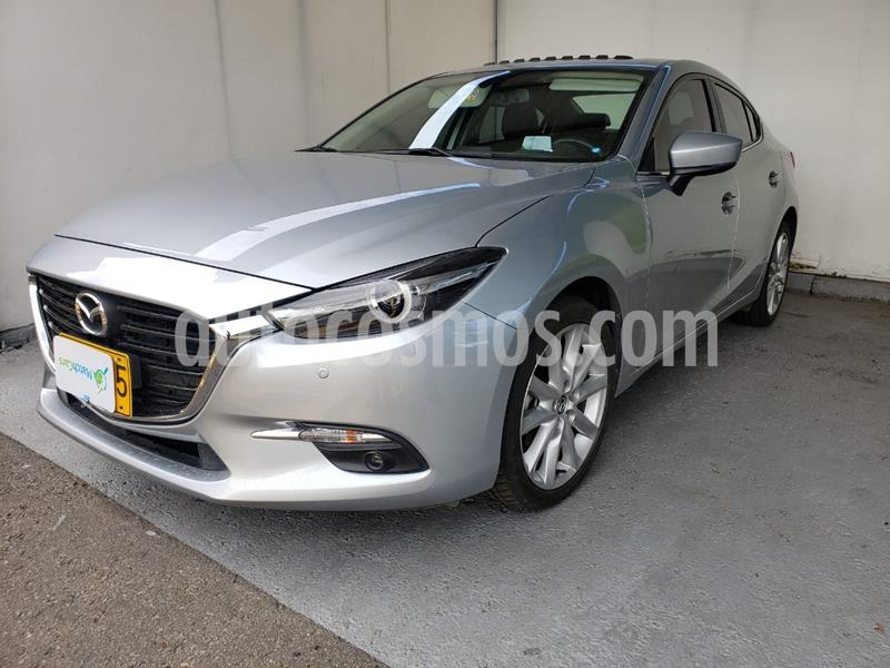 Mazda 3 Sedan 2.0L Grand Touring Aut  C.Negro usado (2019) color Gris Meteoro precio $70.500.000