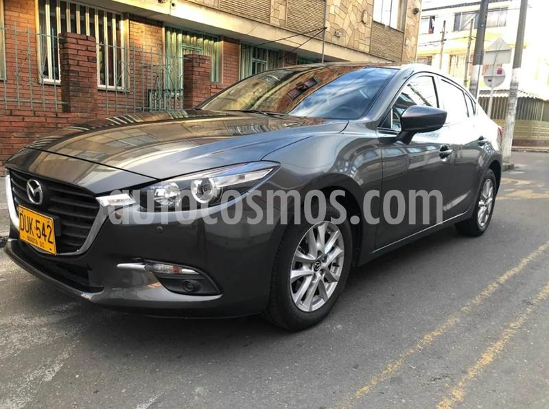 Mazda 3 Sedan 2.0L Touring Aut  usado (2018) color Gris precio $56.900.000