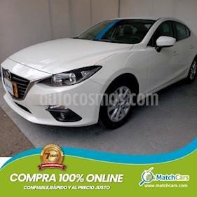 Mazda 3 Sedan 2.0L Touring   usado (2017) color Blanco Nieve precio $47.500.000