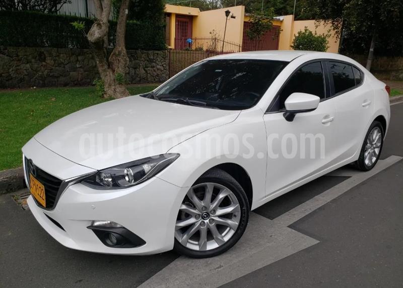 Mazda 3 Sedan 2.0L Touring   usado (2016) color Blanco Nieve precio $48.900.000