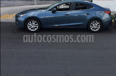 Mazda 3 Sedan i 2.0L Touring Aut usado (2016) color Azul precio $210,000
