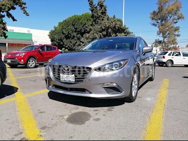 Mazda 3 Sedan i 2.0L Touring Aut usado (2015) color Gris Plata  precio $220,000