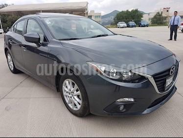 Foto venta Auto usado Mazda 3 Sedan i 2.0L Touring Aut (2016) color Gris precio $204,000