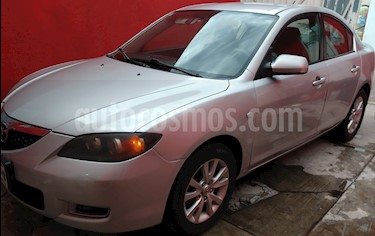 Foto venta Auto usado Mazda 3 Sedan i 2.0L Touring Aut (2007) color Gris Plata  precio $74,000