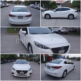 Mazda 3 Sedan i 2.0L Touring Aut usado (2015) color Blanco precio $182,000