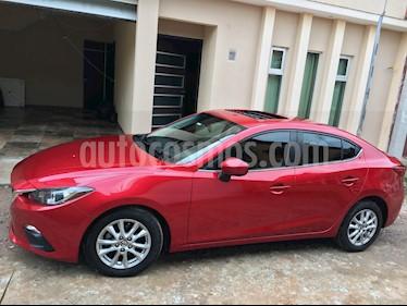Foto Mazda 3 Sedan i 2.0L Touring Aut usado (2016) color Rojo precio $210,000