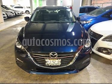 Mazda 3 Sedan i 2.0L Touring Aut usado (2016) color Azul precio $199,000