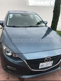 Mazda 3 Sedan i 2.0L Touring Aut usado (2016) color Azul Metalizado precio $180,000