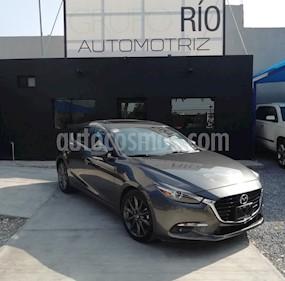 Foto venta Auto usado Mazda 3 Sedan i Grand Touring Aut (2018) color Gris Titanio precio $289,000