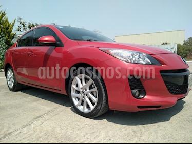 Foto venta Auto usado Mazda 3 Sedan i Grand Touring Aut (2013) color Rojo precio $165,000