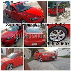 Mazda 3 Sedan I Sport Aut usado (2008) color Rojo precio $85,000