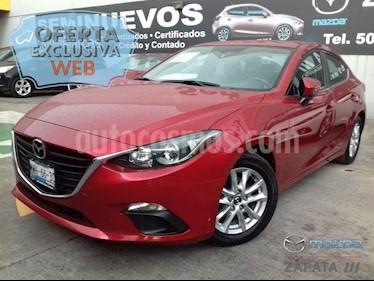 Foto venta Auto Seminuevo Mazda 3 Sedan i Touring Aut (2016) color Rojo precio $225,000