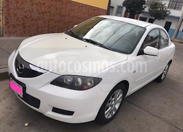 Foto venta Auto usado Mazda 3 Sedan i Touring (2007) color Blanco precio $87,000
