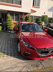 Mazda 3 Sedan i usado (2015) color Rojo precio $170,000