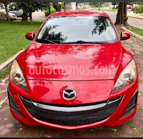 Mazda 3 Sedan i usado (2010) color Rojo precio $115,000
