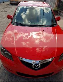 Mazda 3 Sedan i usado (2008) color Rojo Autentico precio $88,000