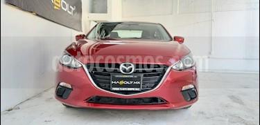 Mazda 3 Sedan i 2.0L Touring Aut usado (2016) color Rojo precio $220,000