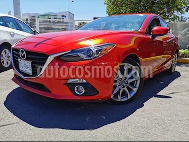Mazda 3 Sedan s Grand Touring Aut usado (2016) color Rojo precio $255,000