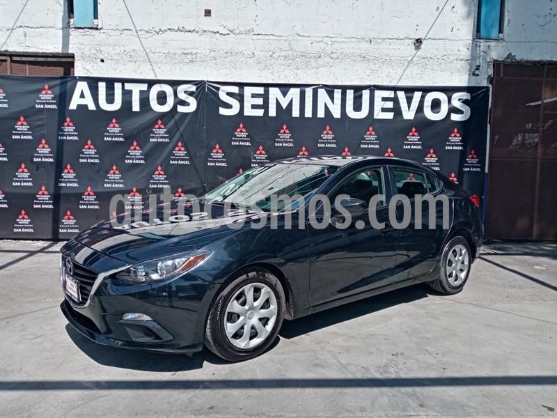 Mazda 3 Sedan i usado (2015) color Negro precio $165,000