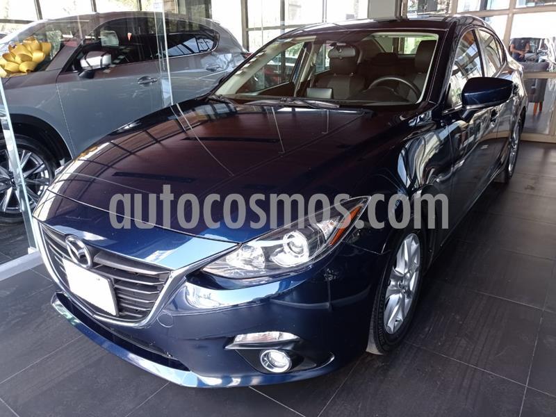 Mazda 3 Sedan i Touring usado (2016) color Azul precio $195,000