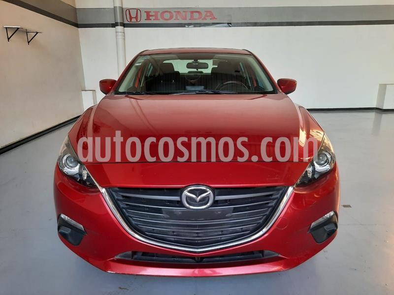 Mazda 3 Sedan i 2.0L Touring Aut usado (2016) color Rojo precio $212,442