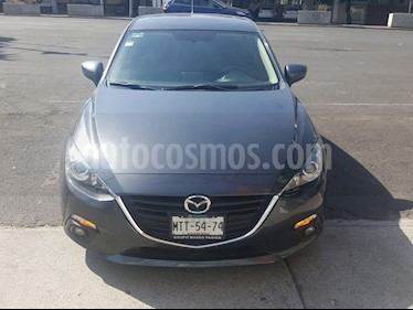 Mazda 3 Sedan s Aut usado (2015) color Gris precio $185,000
